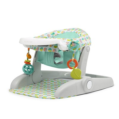 Summer Infant Learn to Sit Stages 3 Position Floor Booster Seat - Green