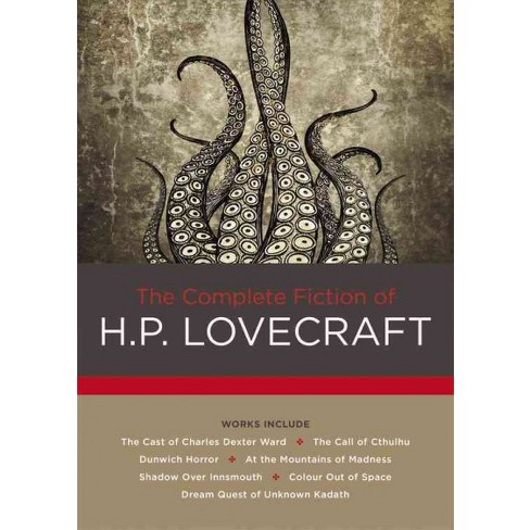 Complete Fiction Of H P Lovecraft Hardcover Target