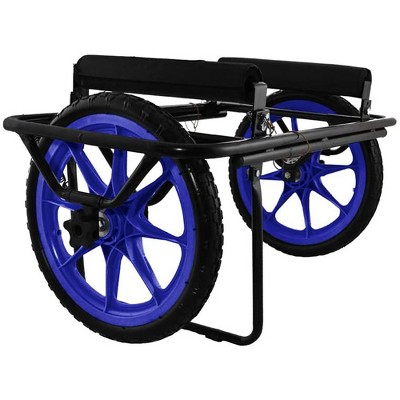 Seattle Sports Paddleboy ATC All Terrain Center Heavy Duty Kayak Canoe Boat Carrier Dolly Cart with Airless Anti Flat Wheels, 300 Pound Capacity