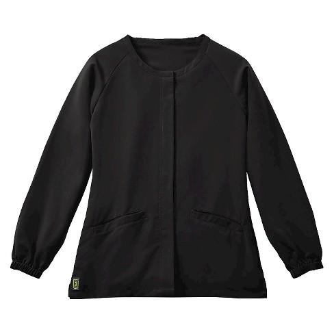 Addison Ave Women's Warm Up Scrub Jacket - image 1 of 1