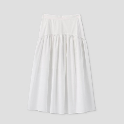 Women's Tiered Skirt - Prologue™ White - image 1 of 2