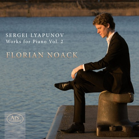 Florian Noack - Lyapunov:Works For Piano Vol 2 (CD) - image 1 of 1