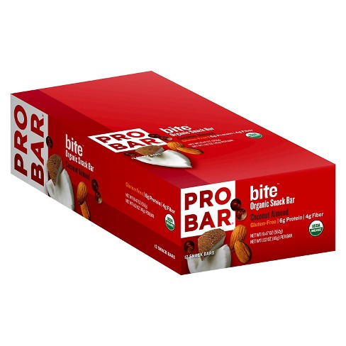 Probar Bite Coconut Almond Organic Snack Bar 12 ct - image 1 of 1
