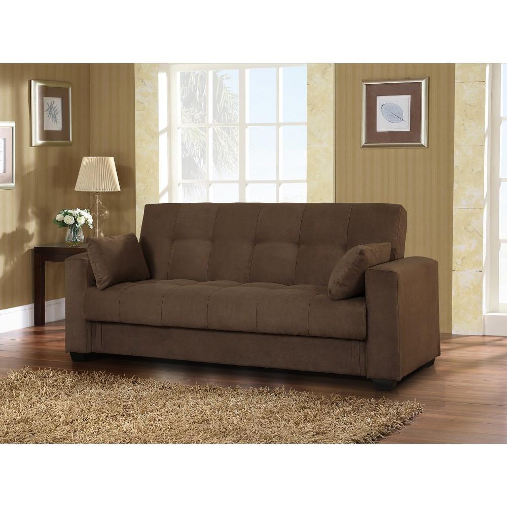 Lifestyle Solutions Lexington Sofa Bed - Java, Brown