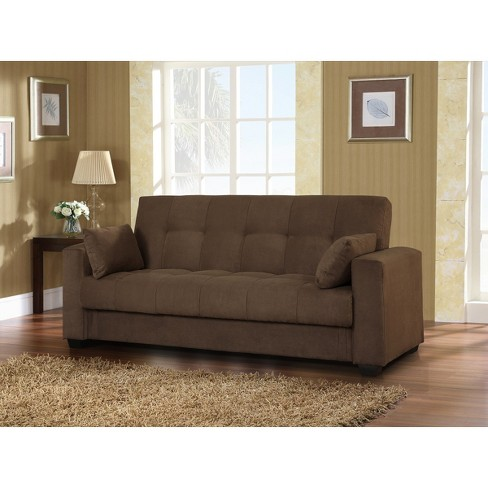Lifestyle Solutions Lexington Sofa Bed - Java - image 1 of 4