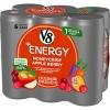 V8 +Energy Honeycrisp Apple Berry - 6pk/8 fl oz Cans - image 3 of 4