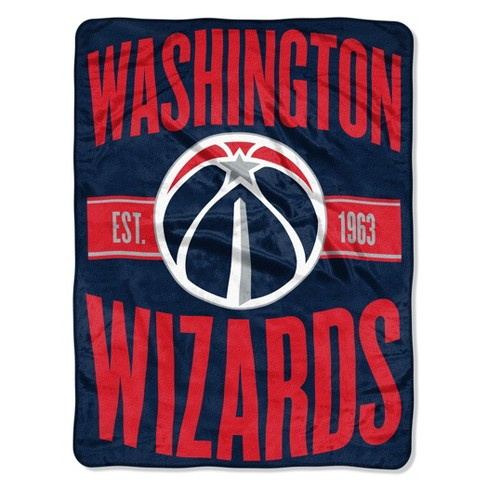 NBA Washington Wizards Micro Fleece Blanket - image 1 of 1