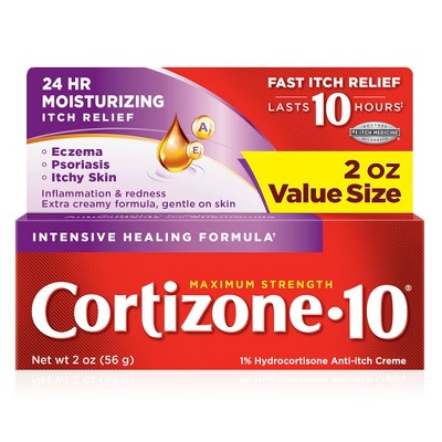 Cortizone 10 Intensive Healing Anti-Itch Crème - 2oz