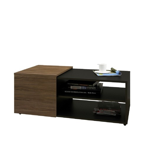 Next Coffee Table Black & Walnut - Nexera - image 1 of 5