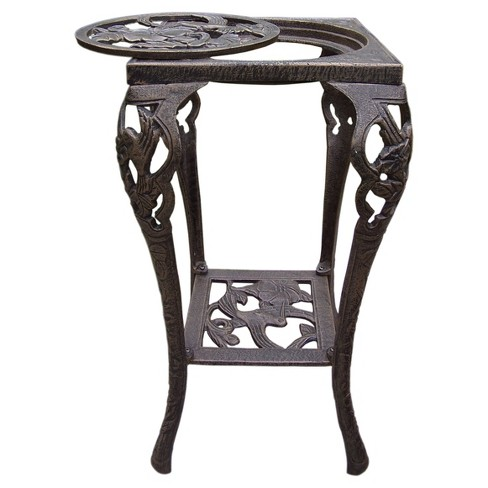 14 Square Oakland Plant Stand Bronze Target