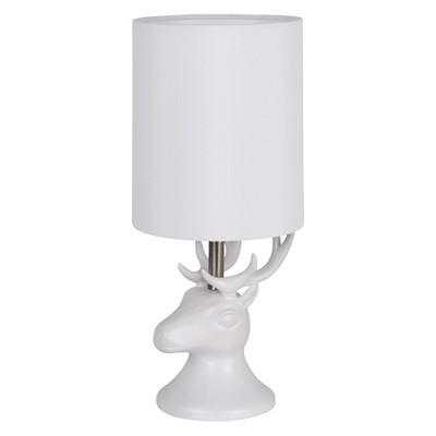 Reindeer Lamp Off White - Room Essentials™