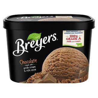 Breyers Original Ice Cream Chocolate - 48oz