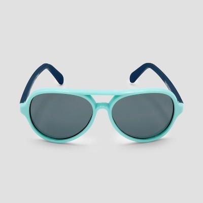 Baby Boys' Aviator Sunglasses - Cat & Jack™ Aqua One Size