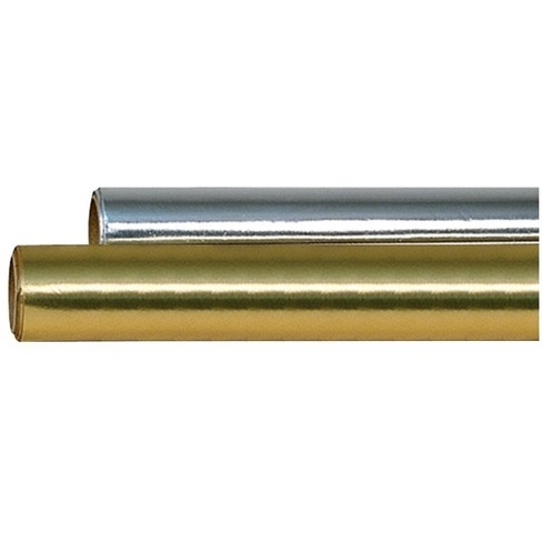 Hygloss Colored Metallic Foil Roll, 26 Inch x 25 Feet, Gold - image 1 of 1