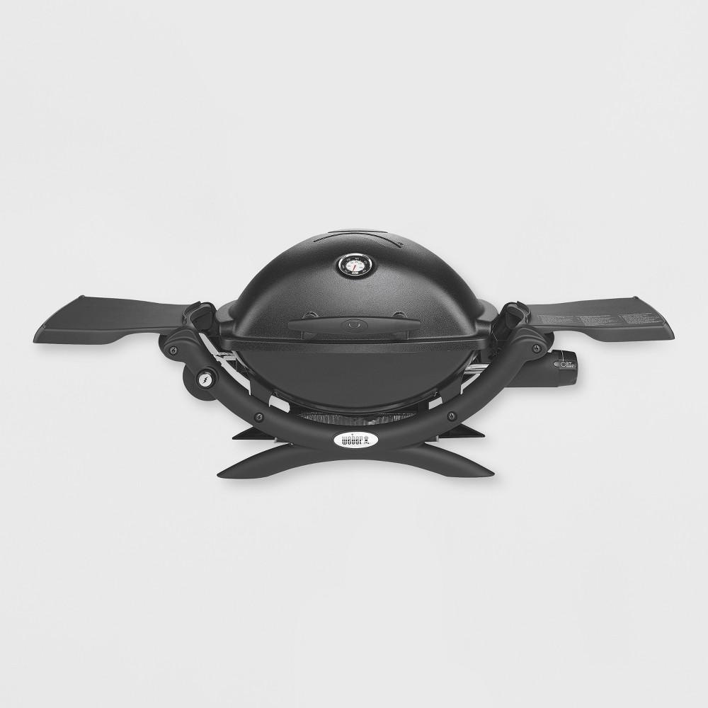 Image of Weber Q 1200 LP Gas Grill Model 51010001 - Black