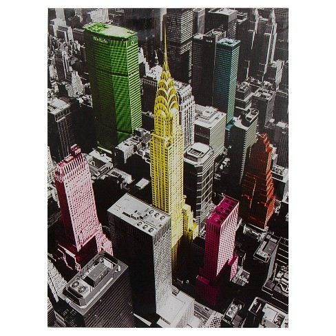 High-Lights of New York Canvas Wall Art - image 1 of 1