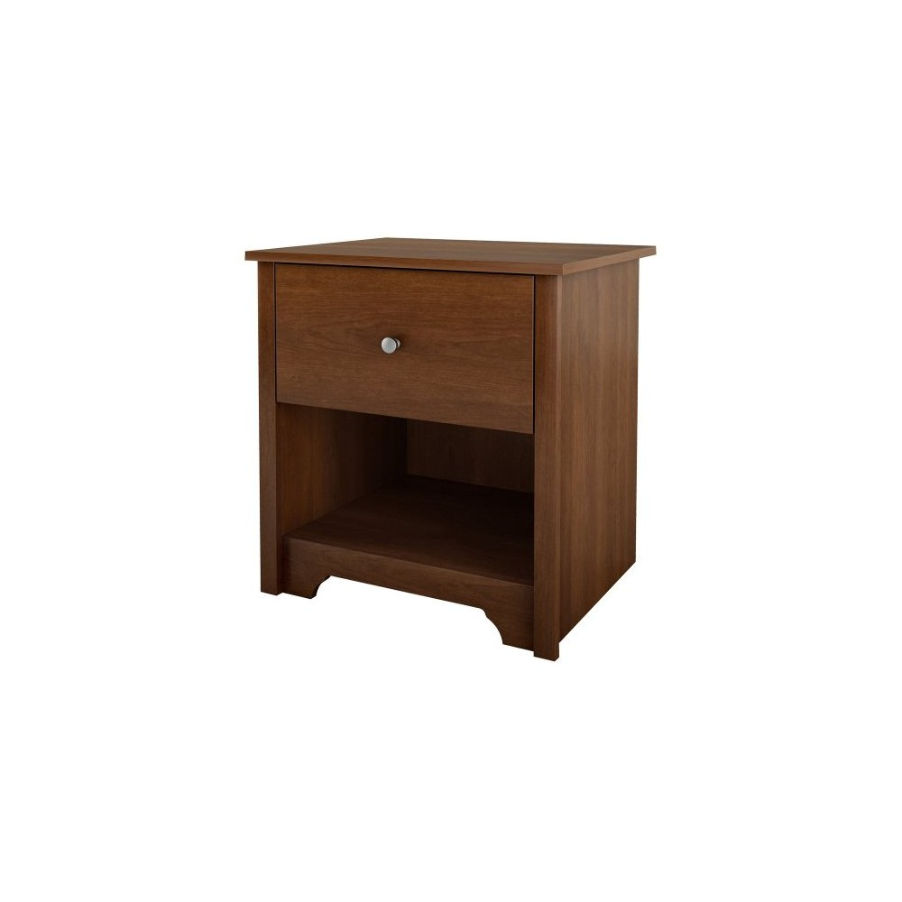 Pasadena Nightstand Cherry - South Shore, Somptuous Cherry