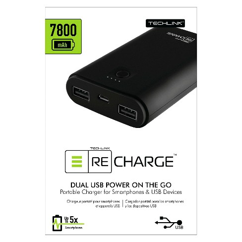 7800mAh Portable Power ReCharge - Black - image 1 of 1