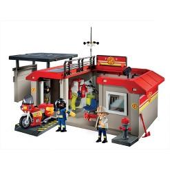 Playmobil Take Along Fire Station