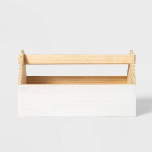 Wood House Caddy - Pillowfort™ - image 1 of 4