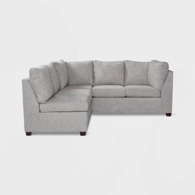 2pc Medford Sectional Sofa Gray   Threshold™
