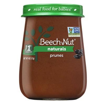 Beech-Nut Naturals Prunes Baby Food Jar - 4oz