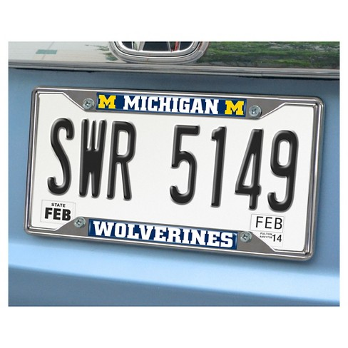 NCAA License Plate Frame University of Michigan : Target