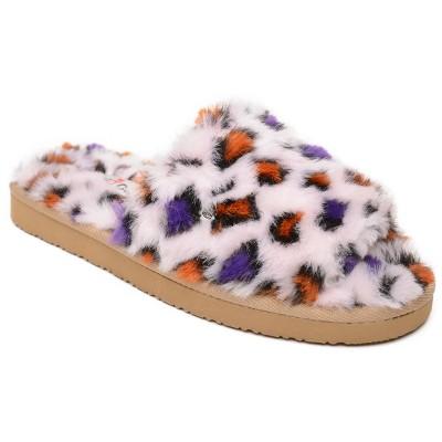 Minnetonka Women's Faux Fur Lolo Slide Slipper