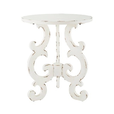 Christos End Table White - Powell Company