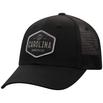 NCAA South Carolina Gamecocks Men's Black Twill with Mesh Snapback Hat