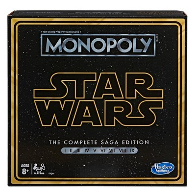 Star Wars Skywalker Saga Monopoly Board Game