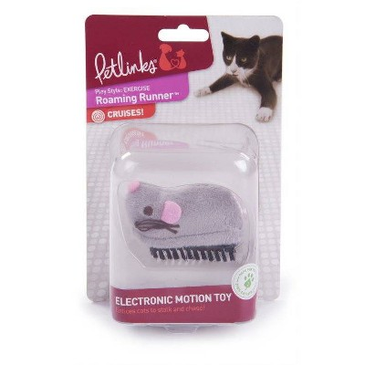 Petlinks Roaming Runner Mouse Electronic Motion Cat Toy
