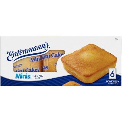 Entenmann's Mini Butter Pound Cake - 9.25oz