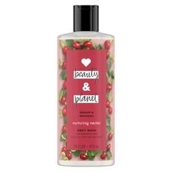 Love Beauty & Planet Rosehip & Patchouli Body Wash - 16oz