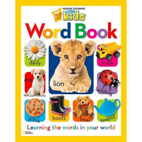 Word Book - (National Geographic Little Kids (Hardcover)) (Hardcover) - image 1 of 1