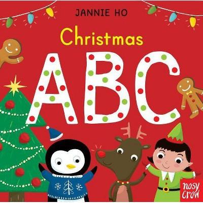 Christmas ABC - (Board Book)