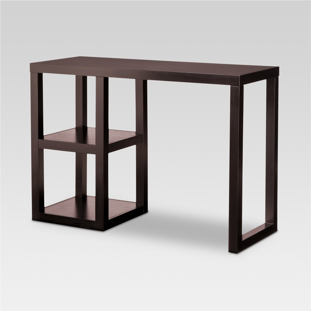 Best Price Console Desk Threshold Brown