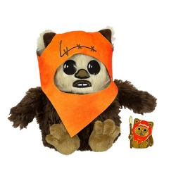 Seven20 Star Wars Ewok Wicket Stylized 7 Inch Plush With Enamel Pin