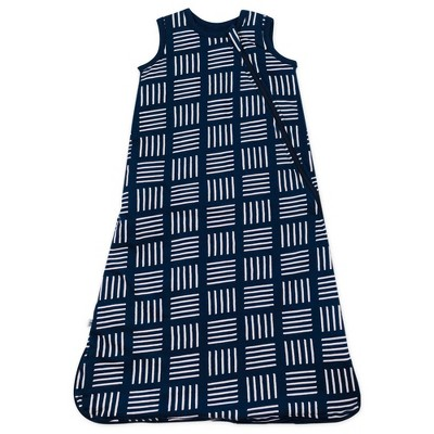 Honest Baby Organic Cotton Jersey Fill Wearable Blanket All Seasons - Sketchy Square S