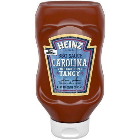 Heinz Carolina Vinegar Style Tangy BBQ Sauce - 18.5oz - image 1 of 3