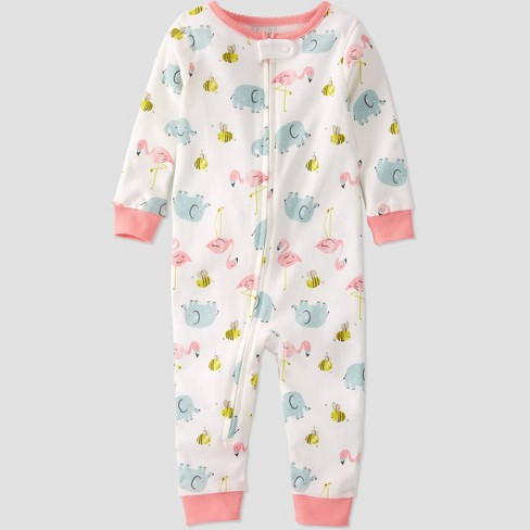 Toddler Girls' Bee and Friends Sleep N' Play - little planet by carter's Off-White - image 1 of 3