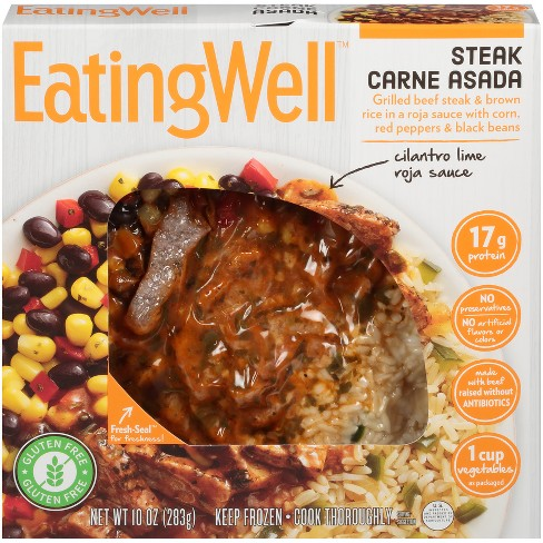EatingWell Steak Carne Asada Frozen Prepared Meal - 10oz - image 1 of 1