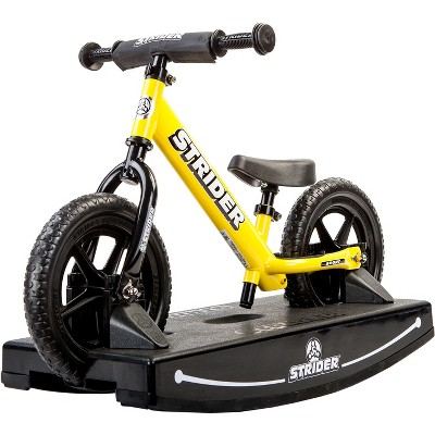 Strider 12 Sport Baby Bundle No Pedal Balance Bike - Yellow