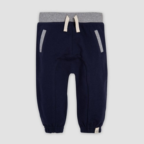 9515682c66 Burt's Bees Baby® Baby Boys' French Terry Organic Cotton Jogger Pants - Blue