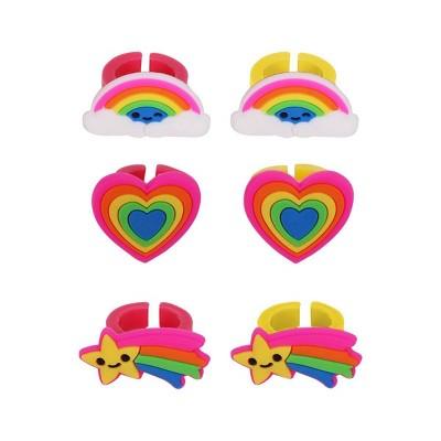 6ct Plastic Character Ring - Spritz™