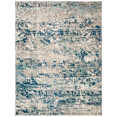 9'x12' Renita Rug Gray/Blue - Safavieh