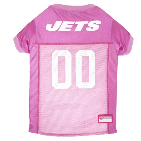 NFL Pets First Pink Pet Football Jersey - New York Jets - image 1 of 2