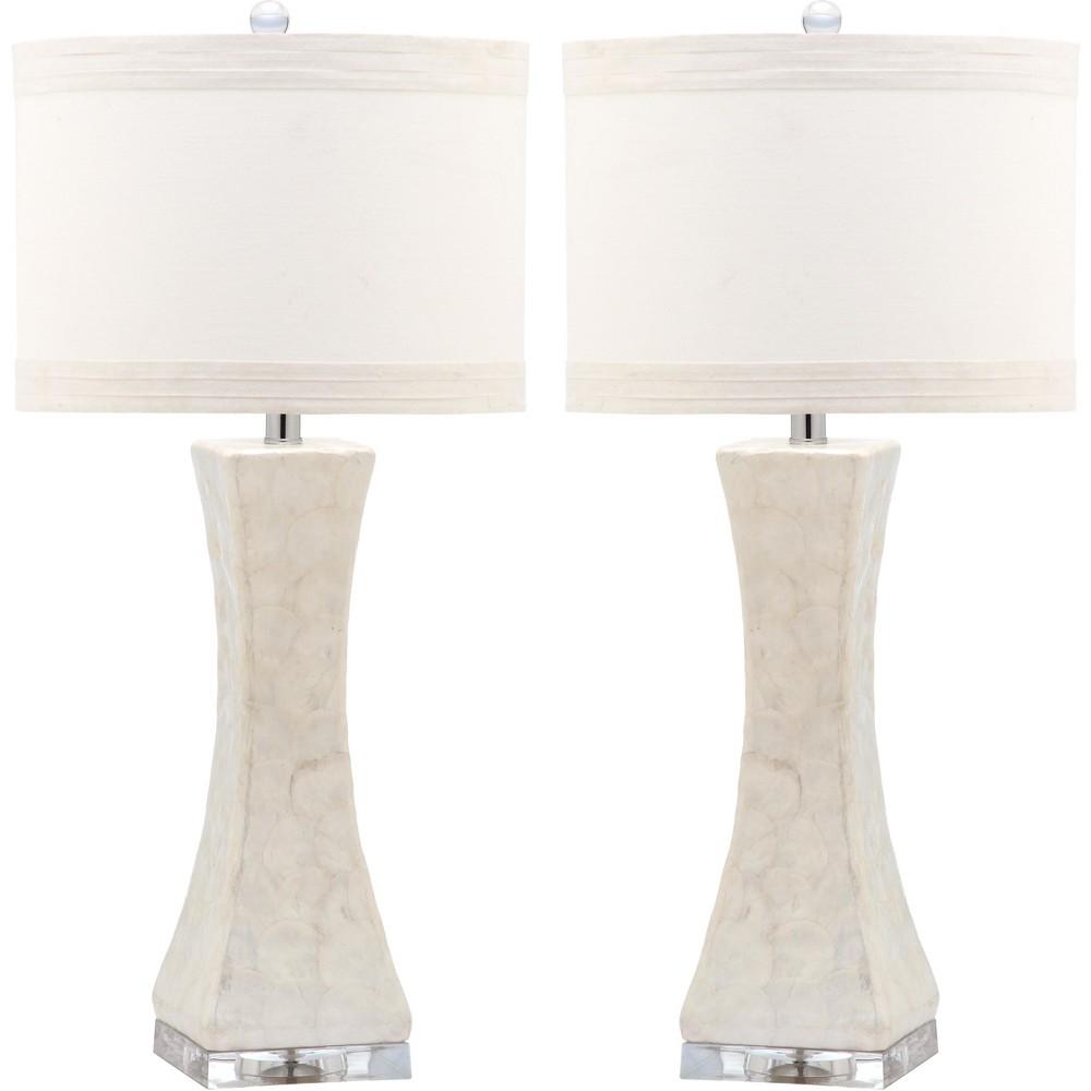 Table Lamp - White (Set of 2) - Safavieh