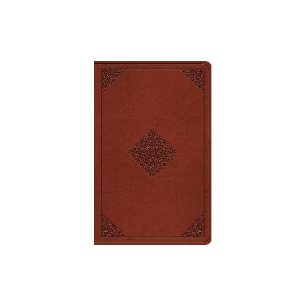 Holy Bible : English Standard Version Tan TruTone Ornament Premium Gift Bible - (Paperback)