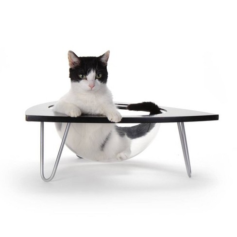 Hauspanther Tripod Cat Lounge Bed - Black - image 1 of 4